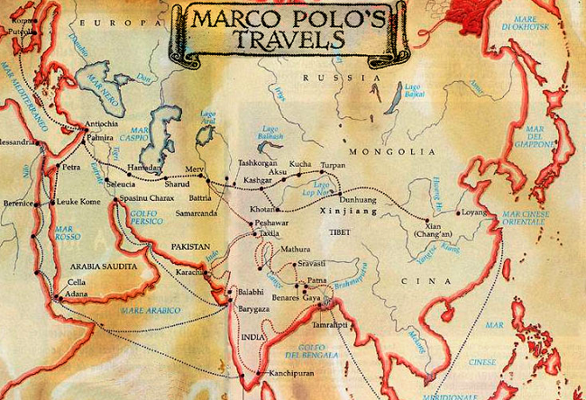 a description of marco polo as the only venetian to travel to china Marco polo really did go to china did marco polo go to china, that the famous explorer didn't the venetian traveler's description of salt production was.